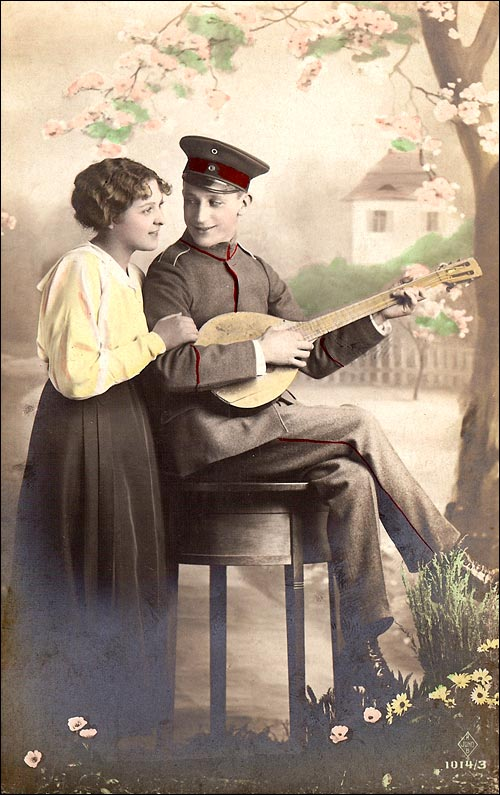 Mandolin Postcard 57