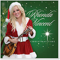 Rhonda Vincent new recording entitled Christmas Time.