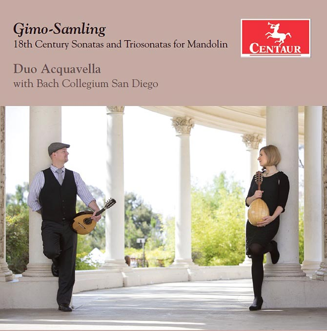 Gimo-Samling; 18th Century Sonatas and Triosonatas for Mandolin