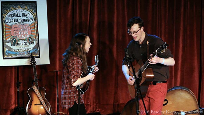 Sarah Jarosz and Michael Daves