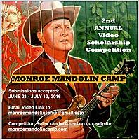 Monroe Mandolin Camp Annual Video Scholarship Competition