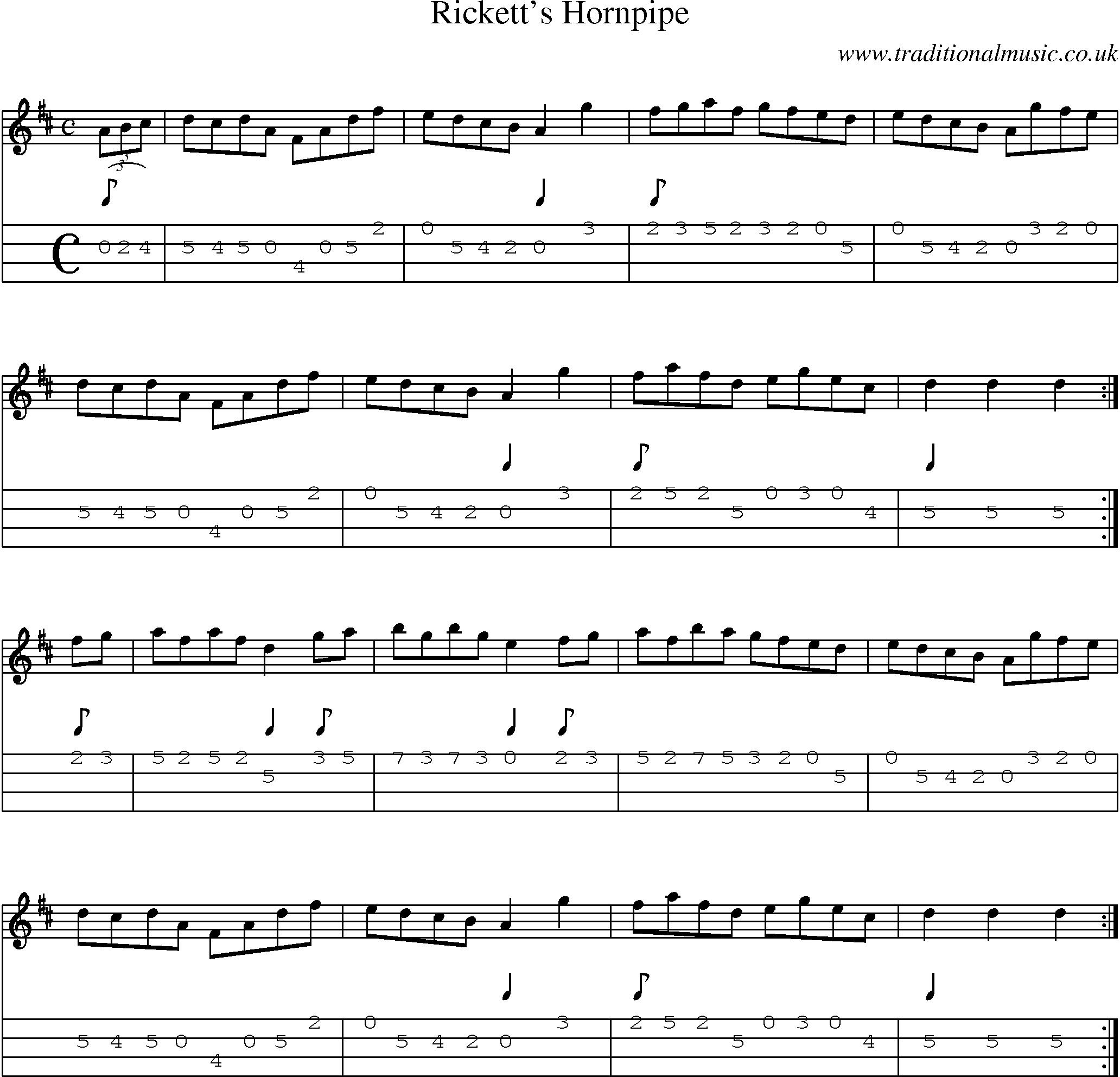Cgda Standard C2 Tuning