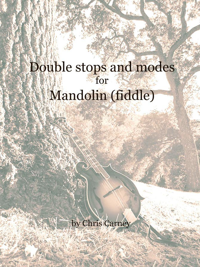 Double Stops and Modes for Mandolin