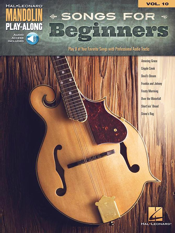 Mandolin Play-Along: Songs for Beginners, Vol. 10