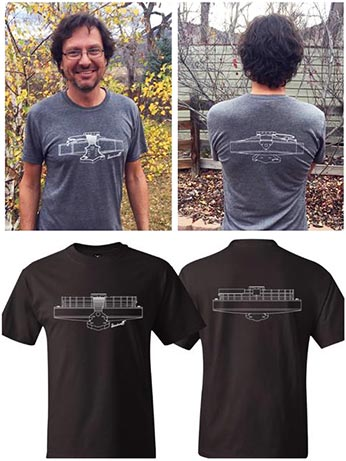 Siminoff Banjo and Mandolin to Sell T-Shirts to Benefit Bluegrass