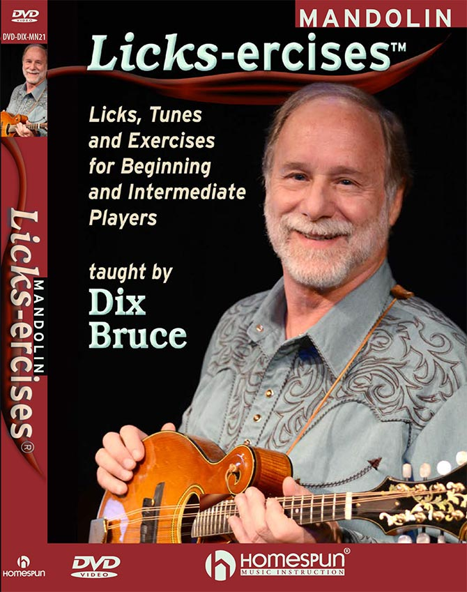 Mandolin Licks-Ercises - Licks, Tunes and Exercises for Beginning and Intermediate Players