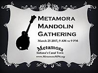 4th Annual Metamora Mandolin Gathering - March 25