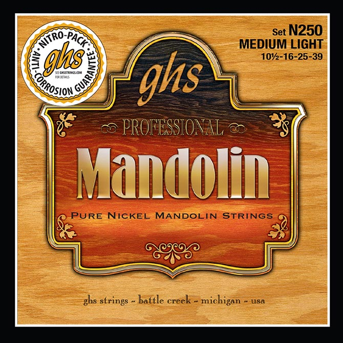 GHS Strings Introduce Pure Nickel Mandolin Strings