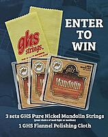 Pure Nickel Mandolin Strings Giveaway Starts This Monday