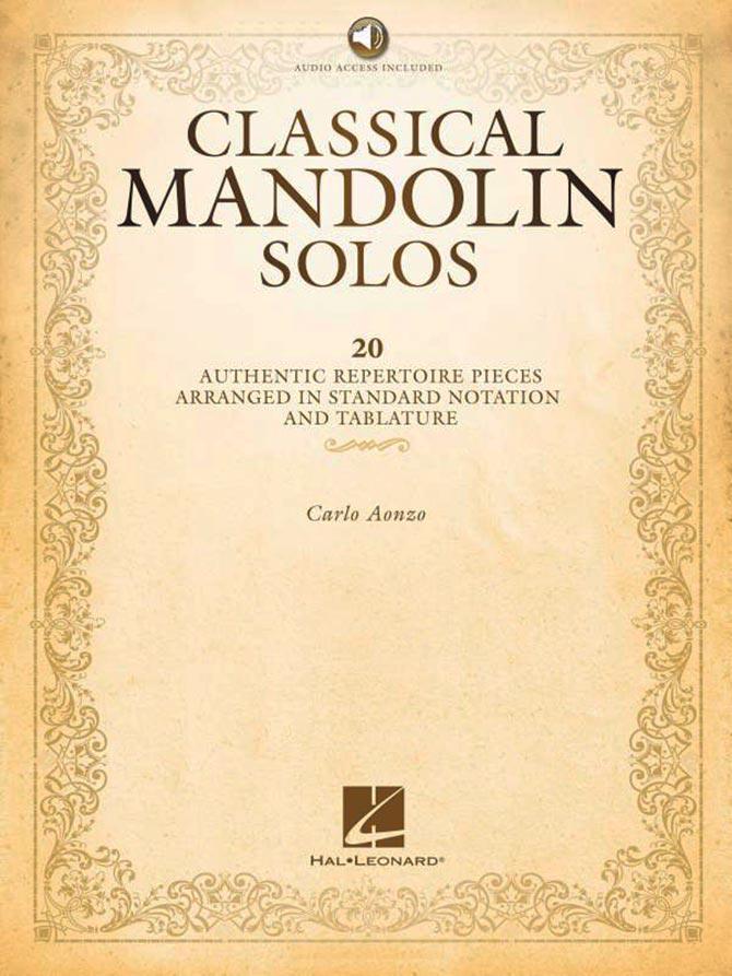 Classical Mandolin Solos by Carlo Aonzo