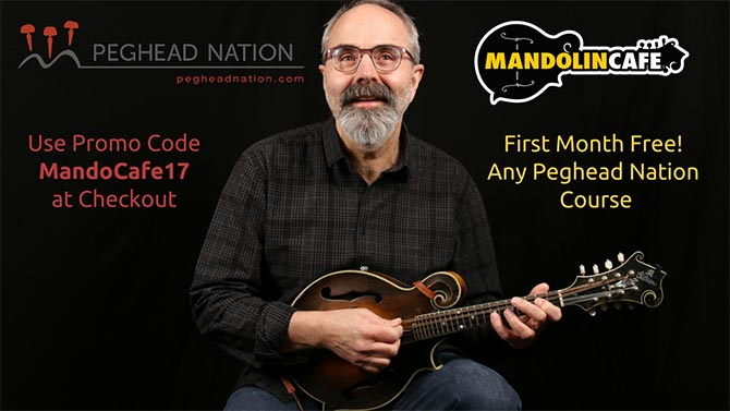 Peghead Nation Subscription Discounts for Mandolin Cafe