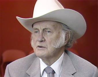 Bill Monroe Interview in Denver