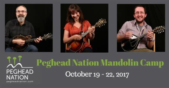 First Annual Peghead Nation Mandolin Camp Announced
