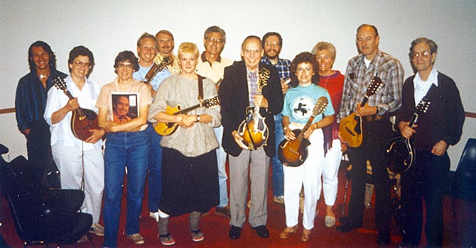 Jethro Burns Mandolin Workshop