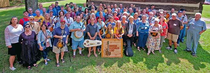 2017 Monroe Mandolin Camp attendees
