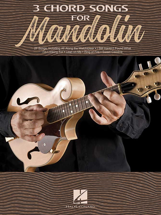 Three Chord Songs for Mandolin (3-Chord Songs)