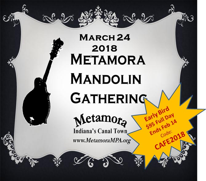 5th Annual Metamora Mandolin Gathering, March 24