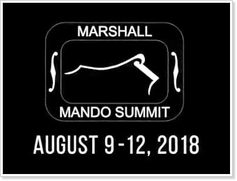 2nd Annual Marshall Mando Summit, August 9-12, 2018