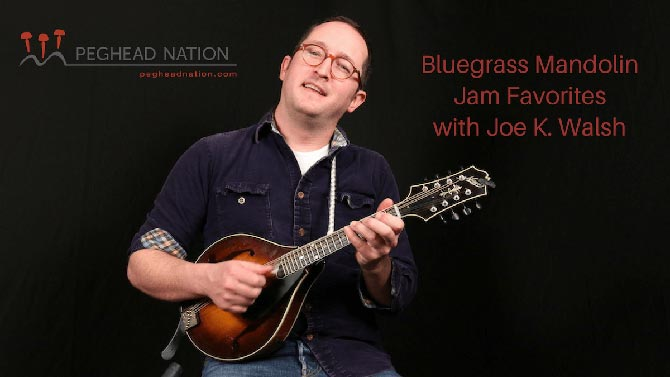 Peghead Nation Launches Bluegrass Mandolin Jam Favorites Course