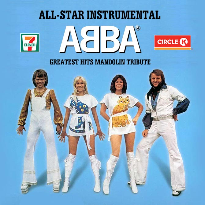 ABBA Greatest Hits for Mandolin Tribute Released