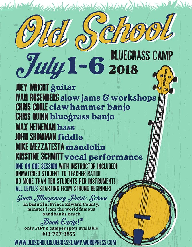 Old School Bluegrass Camp