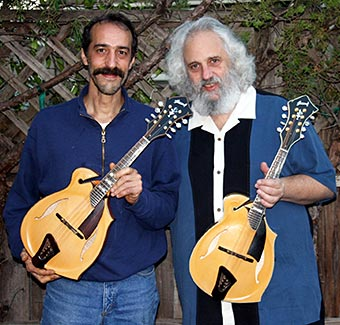 Corrado Giacomel and David Grisman