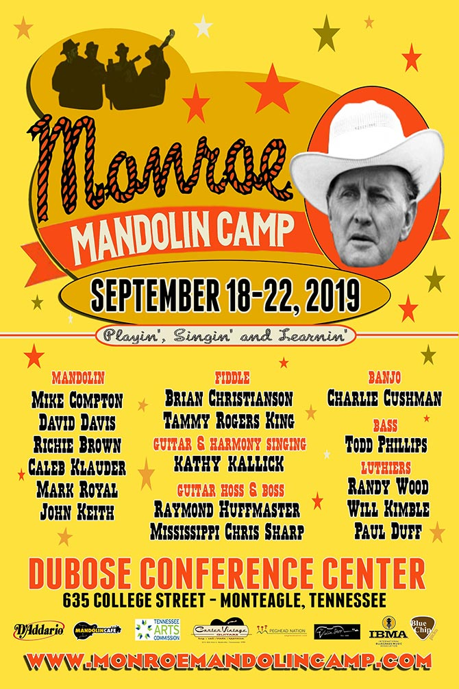 2019 Monroe Mandolin Camp