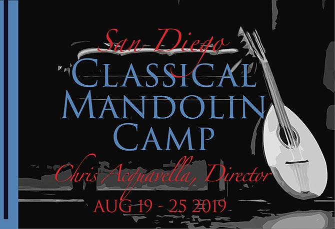 2019 San Diego Classical Mandolin Camp