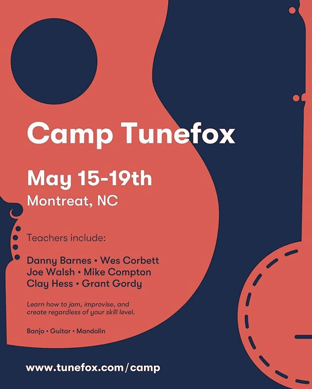 First Annual Camp Tunefox Set for May 15-19