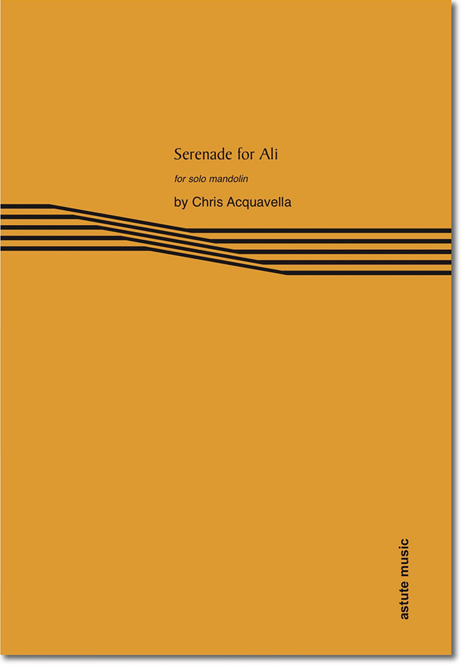 Serenade for Ali by Chris Acquavella