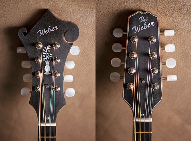 New Weber Mandolin models