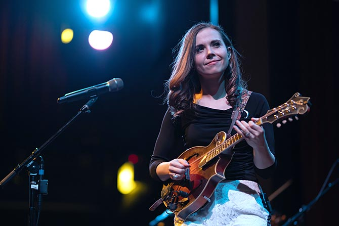 Sierra Hull in Concert at Old Town School of Folk Music, Chicago