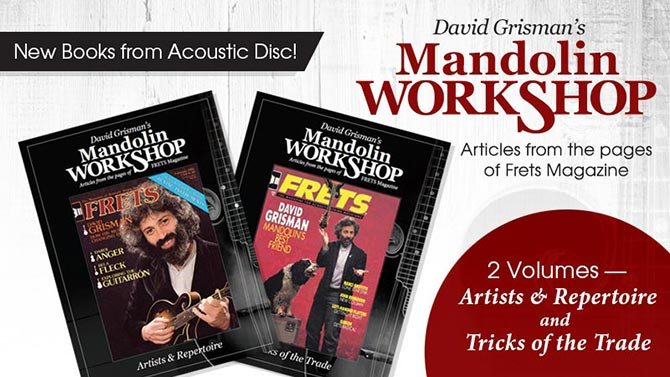 David Grisman's Mandolin Workshop Books