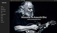 Acoustic Disc Launches New Web Presence