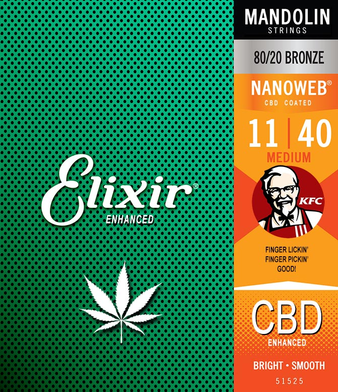 KFC and Elixir Extended Strings with CBD/THC Coatings Announced