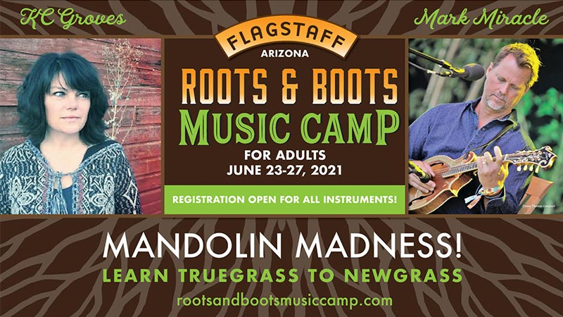 Roots and Boots Music Camp Set for June 23-27 near Flagstaff