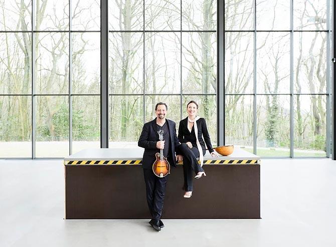 Caterina LIchtenberg and Mike Marshall