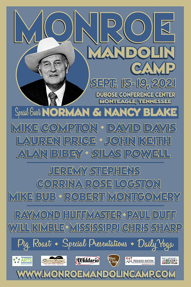 2021 Monroe Mandolin Camp