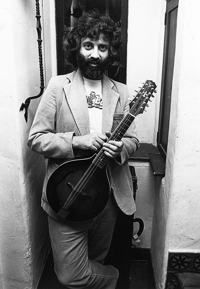 David Grisman with Lloyd Loar's unique 10-string mando-viola