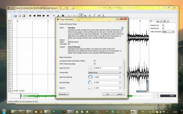chord detection/recognition software