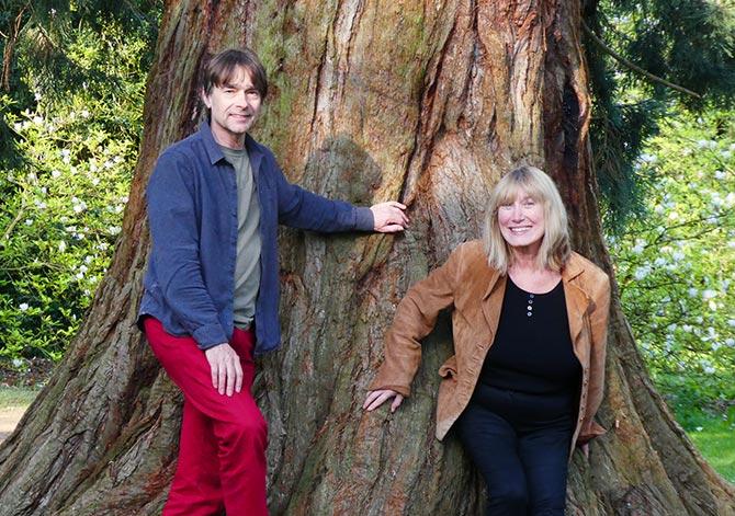 Simon Mayor and Hilary James