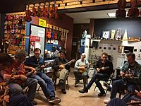 Mandosota Gathering at Black Bird Music, 18 May 2015