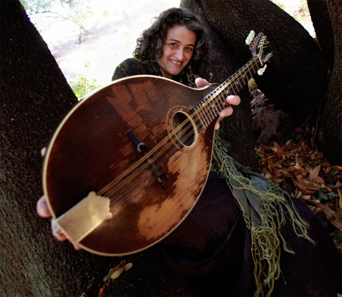Marla Fibish and mandolin