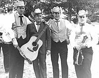 Click image for larger version.  Name:fincastleva-Bill Emerson, Jimmy Martin, Bill Yates and Bill Torbert at the First Bluegrass Festi.jpg Views:64 Size:50.5 KB ID:189367