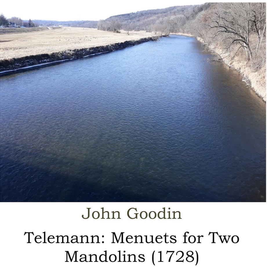 John Goodin  -Telemann: Menuets for Two Mandolins