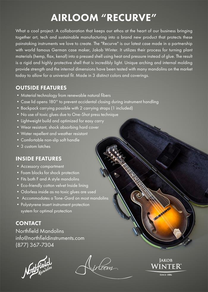 Jakob Winter mandolin cases - Northfield Mandolins