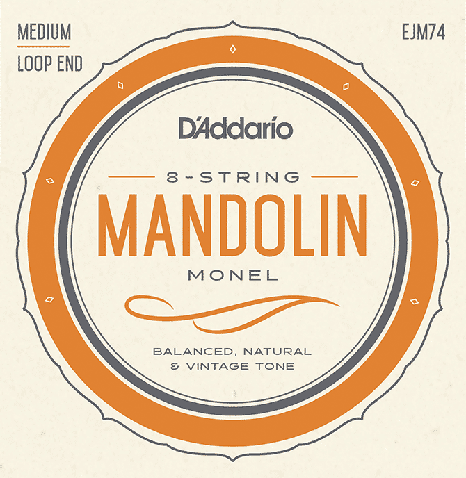 D'Addario Monel Mandolin Strings