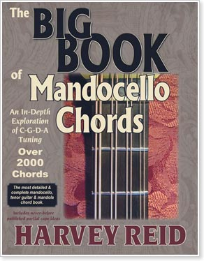 The BIG BOOK of Mandocello Chords by Harvey Reid