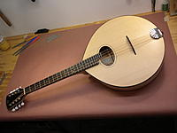 Rustic Maple and Ebony Octave Mandolin