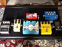 Click image for larger version.  Name:pedal board top.JPG Views:522 Size:311.5 KB ID:94089